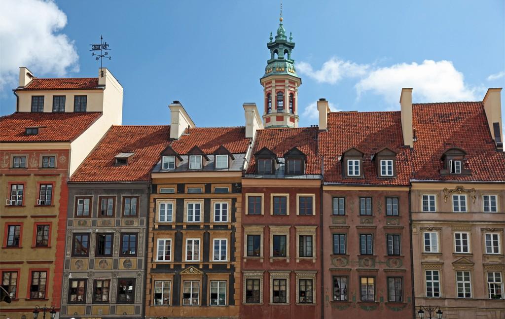 Old Town, Warsaw   © Chris Brown / Flickr