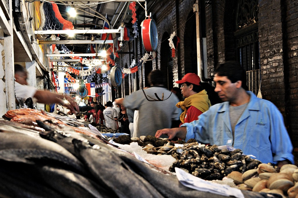 mercado central © Davidlohr Bueso