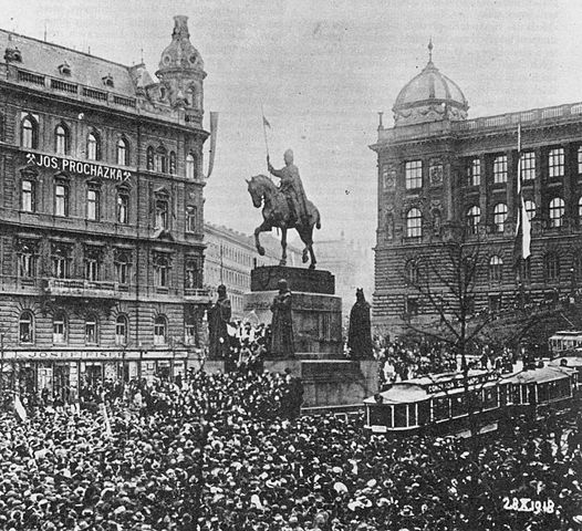 Czechoslovak independence in 1928 / {{PD-US}}