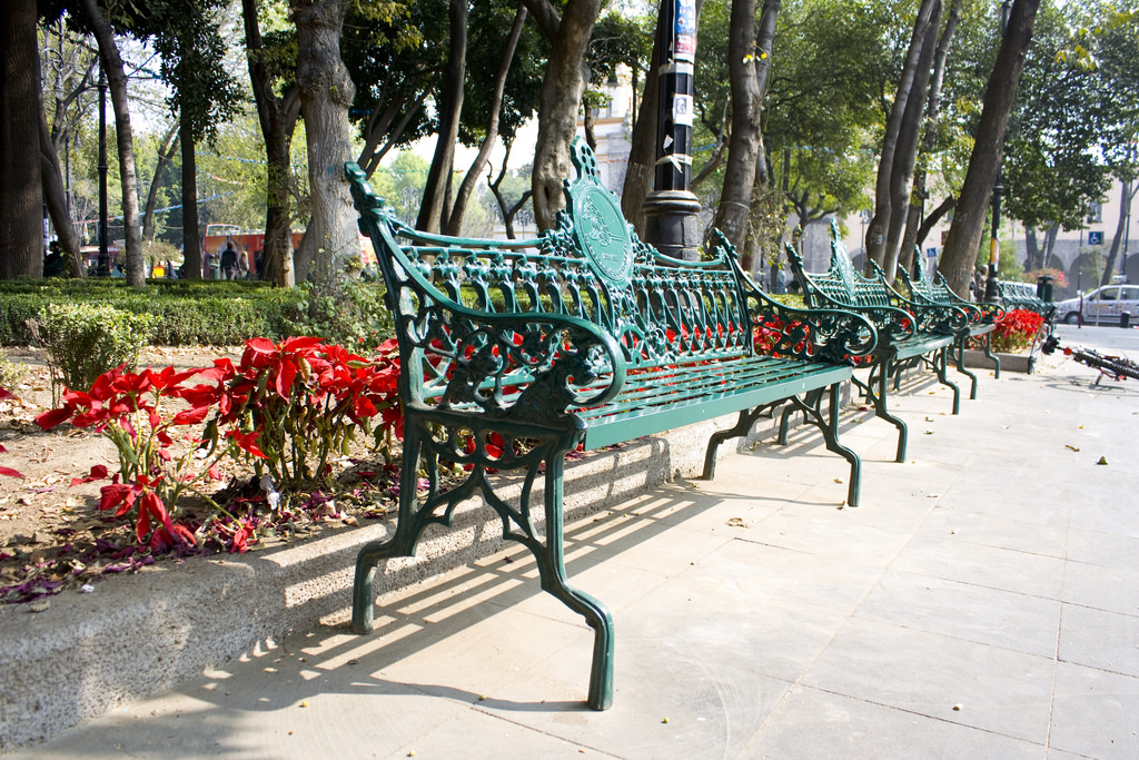Bench, Coyoacán | © Fido/Flickr