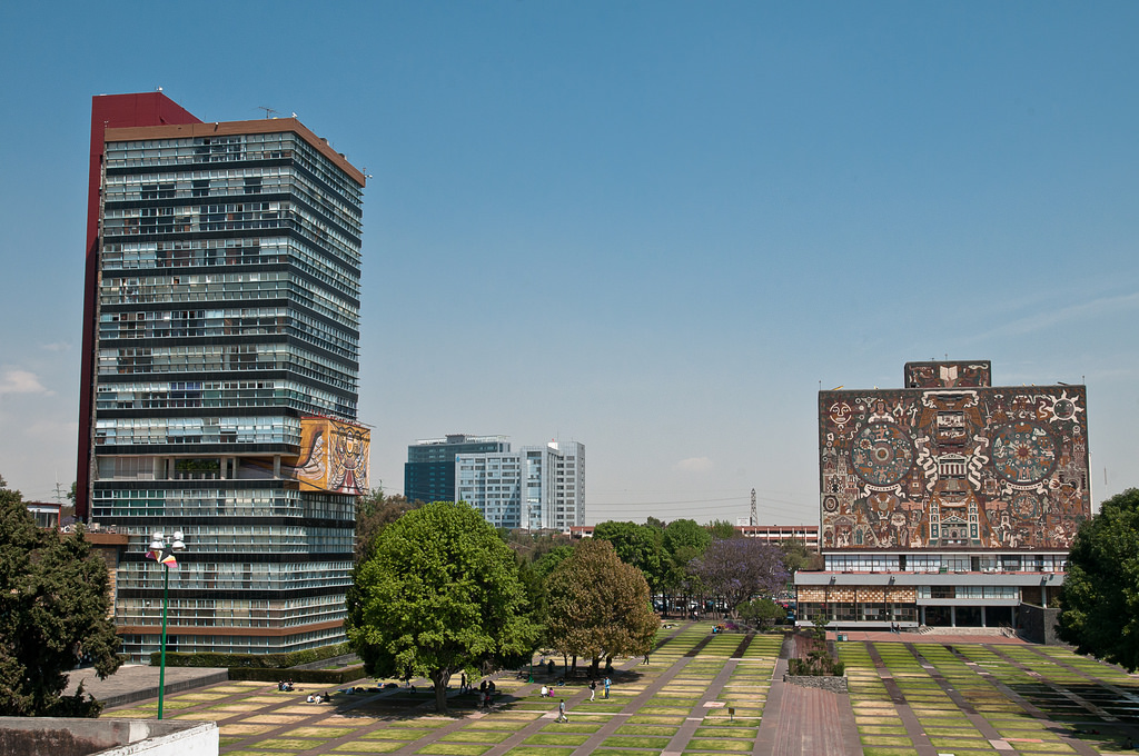 Ciudad Universitaria | © Eneas de Troya/Flickr