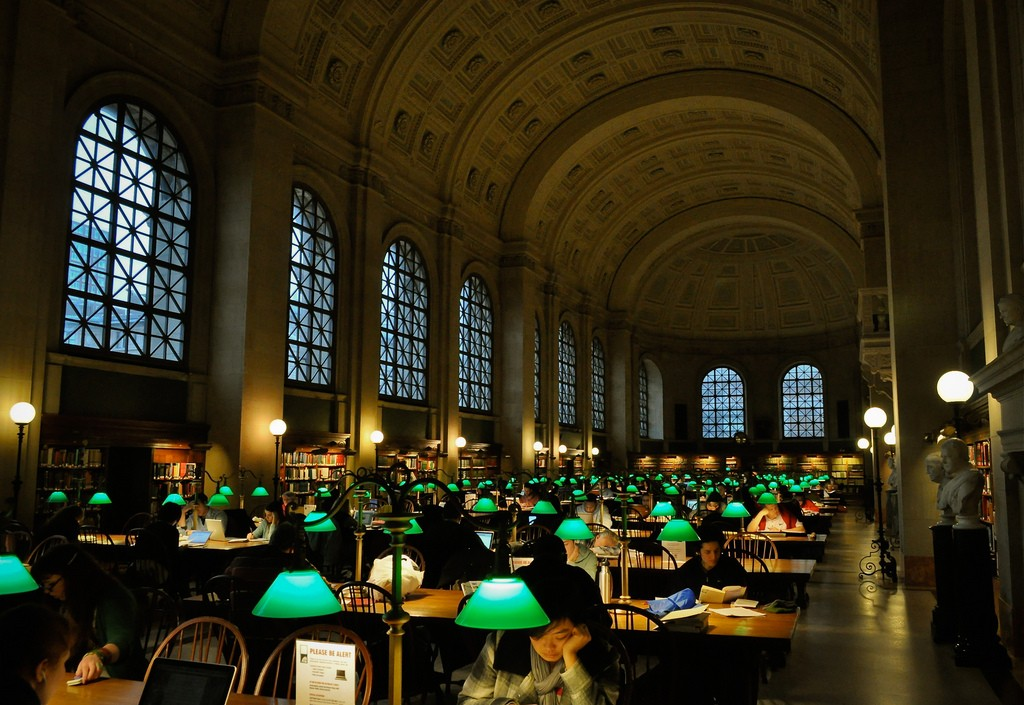 Boston Public Library | © Yuefeng D / Flickr