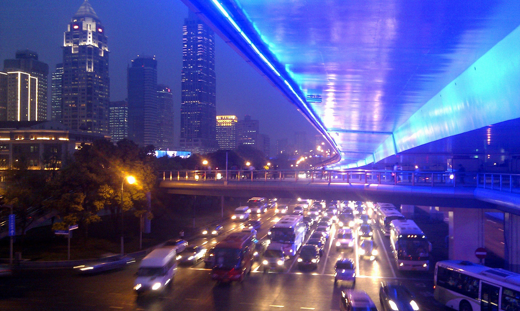 Yan'an Elevated Highway | ©guille ramo/Flickr