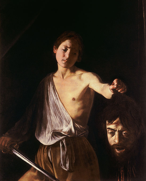 David with the Head of Goliath by Caravaggio   © Wikicommons