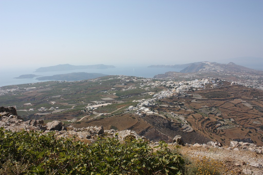 View of Santorini from Mt Profitis Ilias | © Arian Zwegers/Flickr