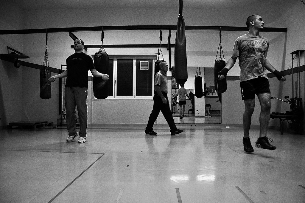Boxers training © GG / Flickr
