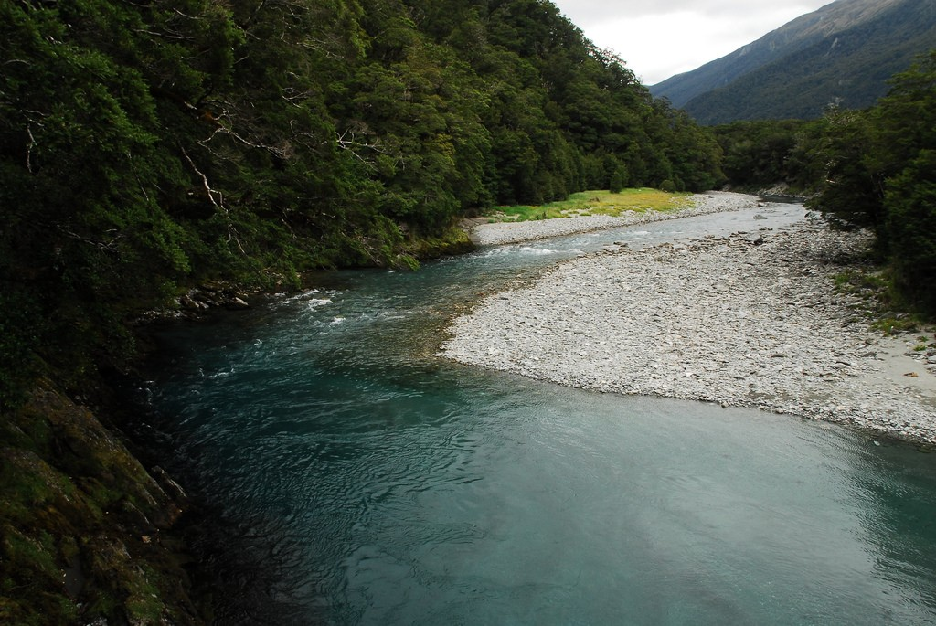 Blue Pools - Haast Pass | © Pierre Roudier/Flickr