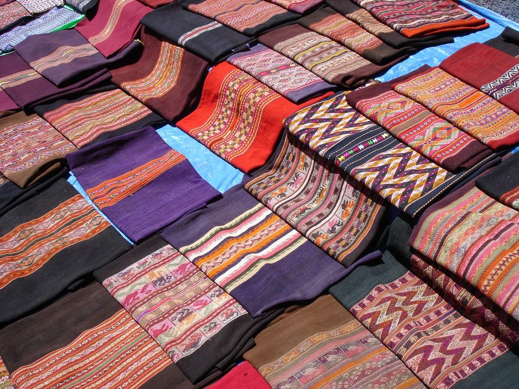 Bolivian Textiles   © SharonGraySalmons/Flickr