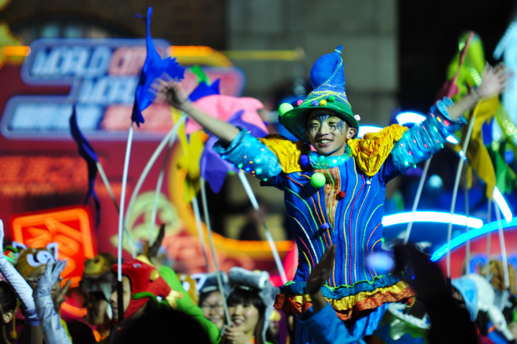 The 2012 Night Parade | © Michael Elleray/Flickr