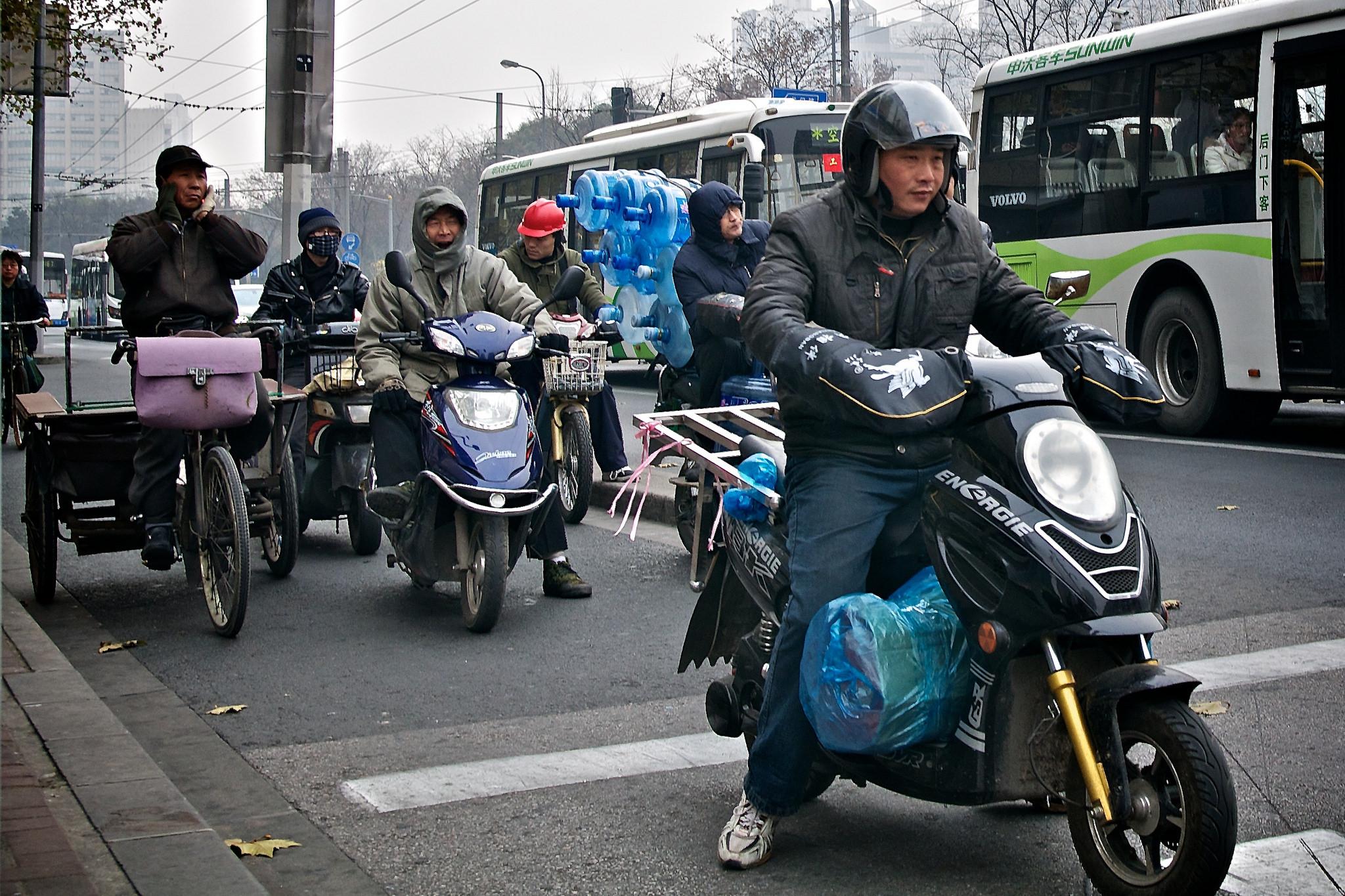 Scooter Riding | ©Max Talbot-Minkin/Flickr