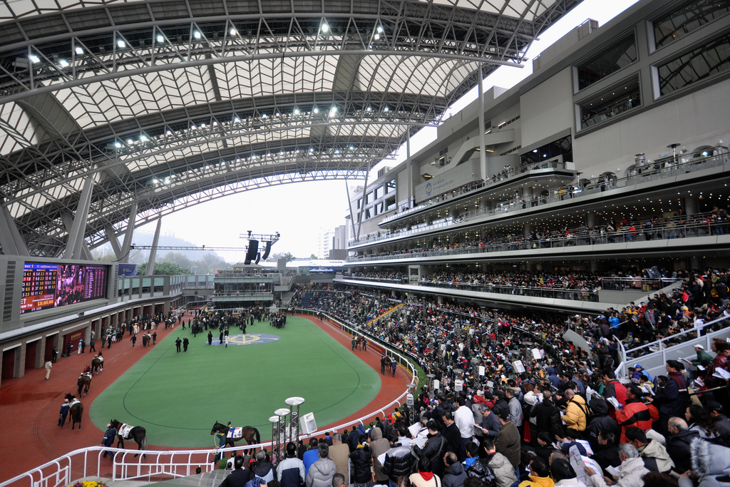 The Sha Tin Racecourse on Chinese New Year Race Day | © Michael Elleray/Flickr
