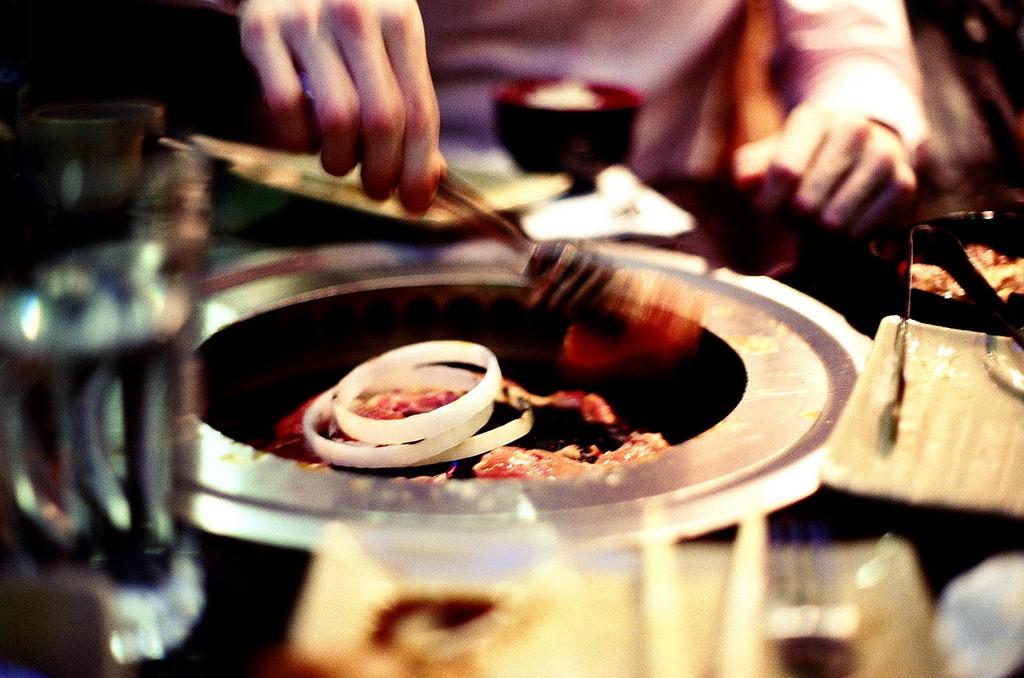 Korean BBQ | © Laura D'Alessandro / Flickr