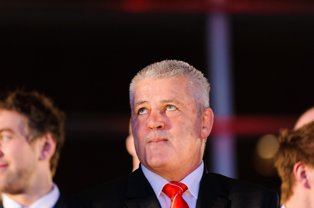 Lions coach Warren Gatland has plenty to ponder | © National Assembly For Wales / Flickr