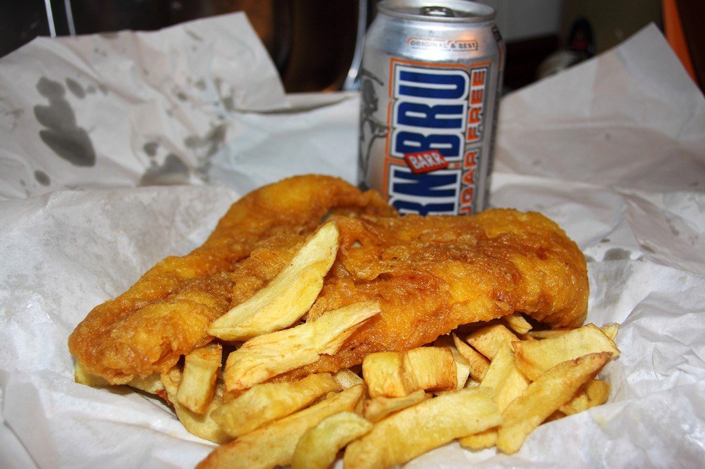 Fish And Chips | © mjtmail (tiggy)/Flickr
