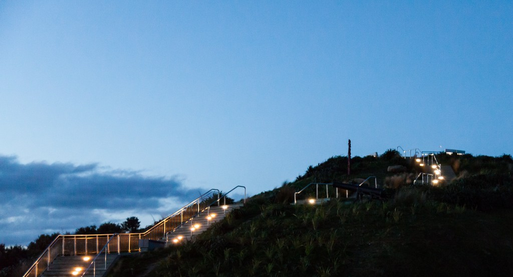 Steps to summit of Mount Victoria | © russellstreet/Flickr