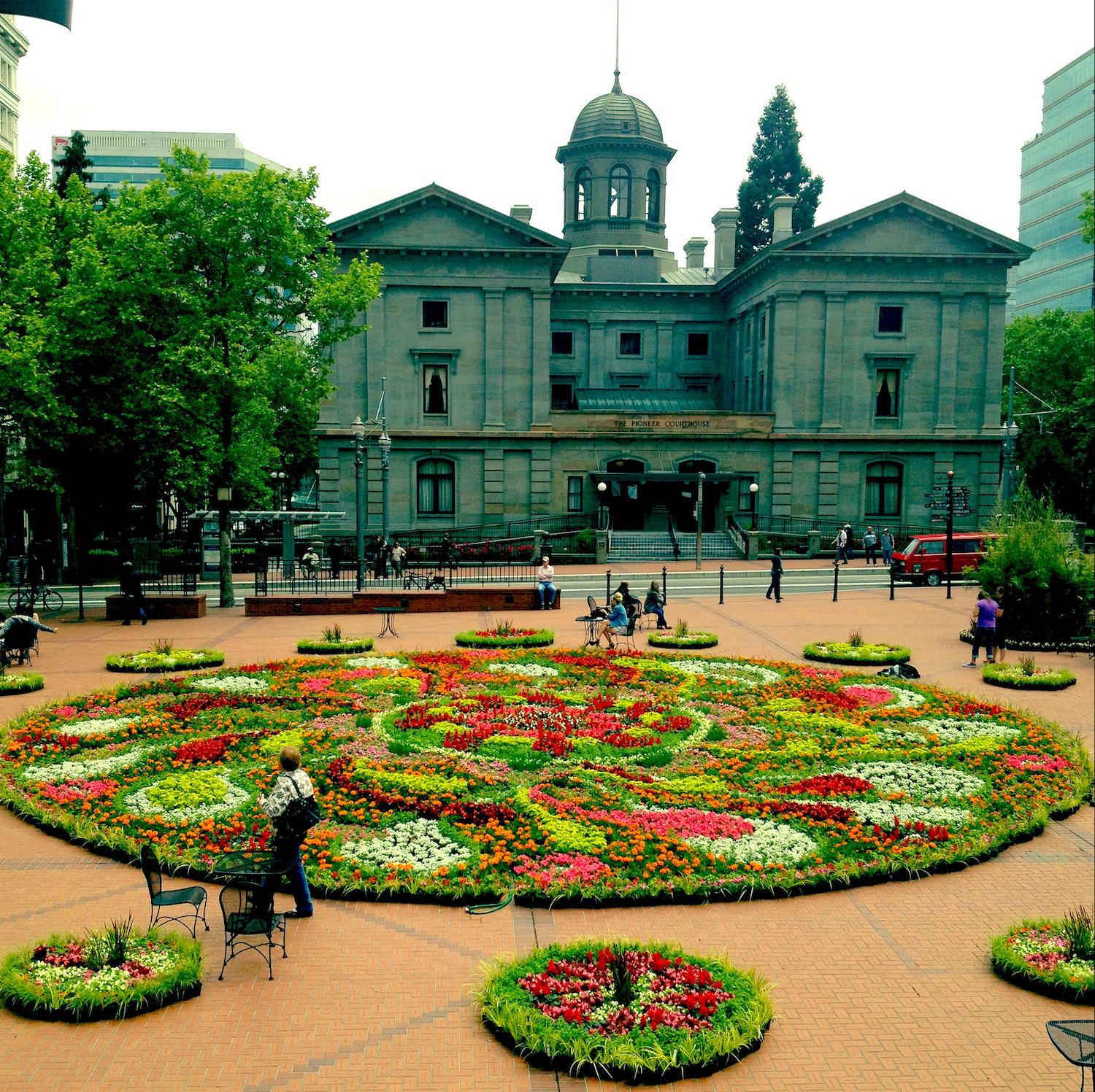 a brief history of pioneer courthouse square portland�s