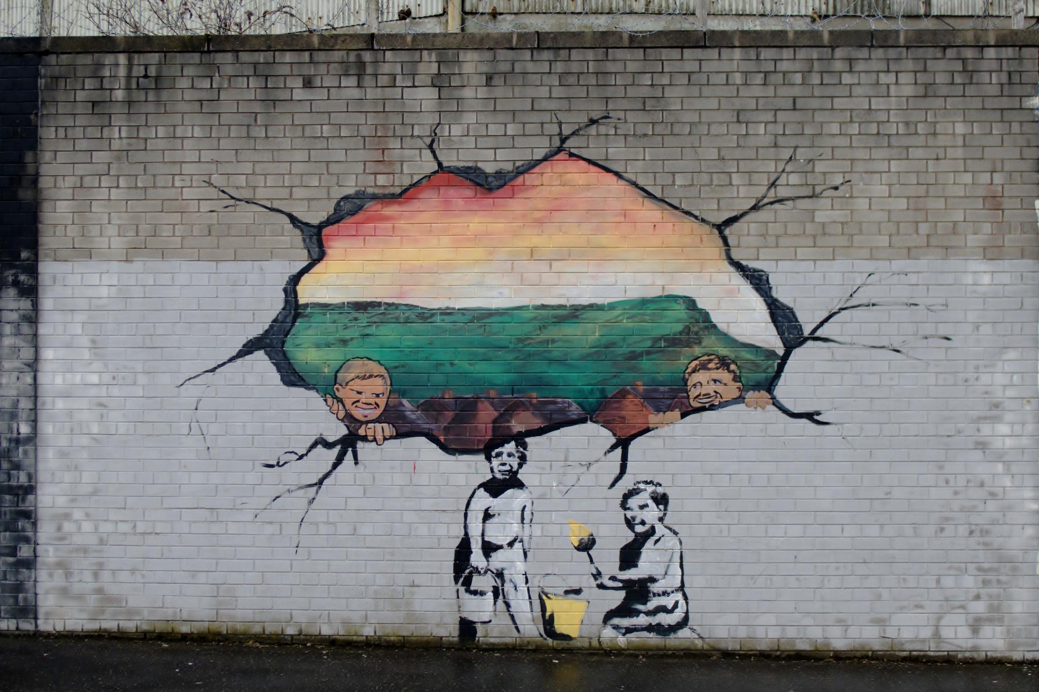 Republican Mural, Falls Road | © Dan Merino/ Flickr