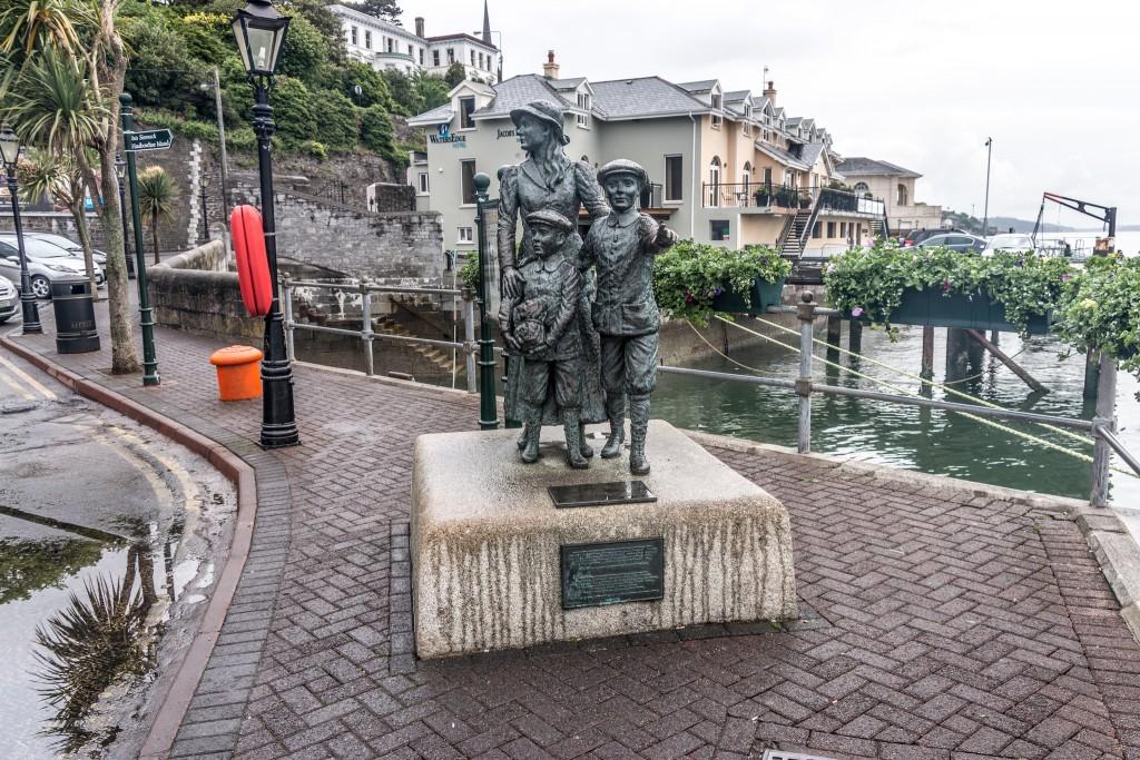 Annie Moore Memorial In Cobh (Cork)   © William Murphy/Flickr