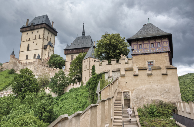 Stairs to the Castle | ©Brad Hammonds / Flick