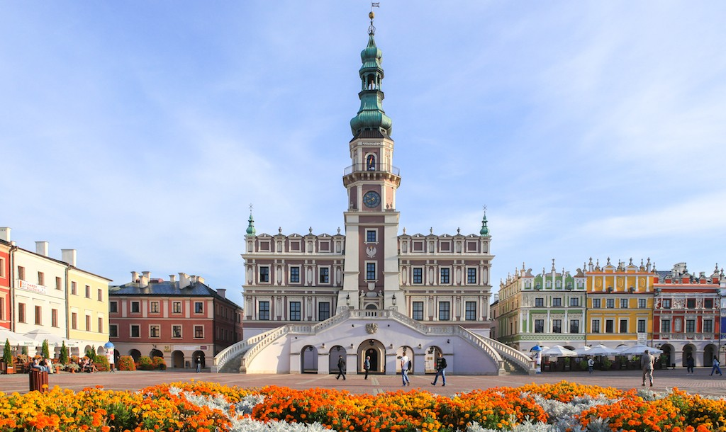 Old City of Zamość |© Ministry of Foreign Affairs of the Republic of Poland