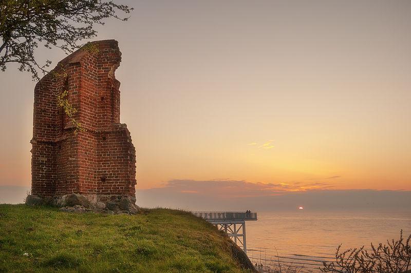 Trzesacz Ruin | © Astromario / Wikimedia