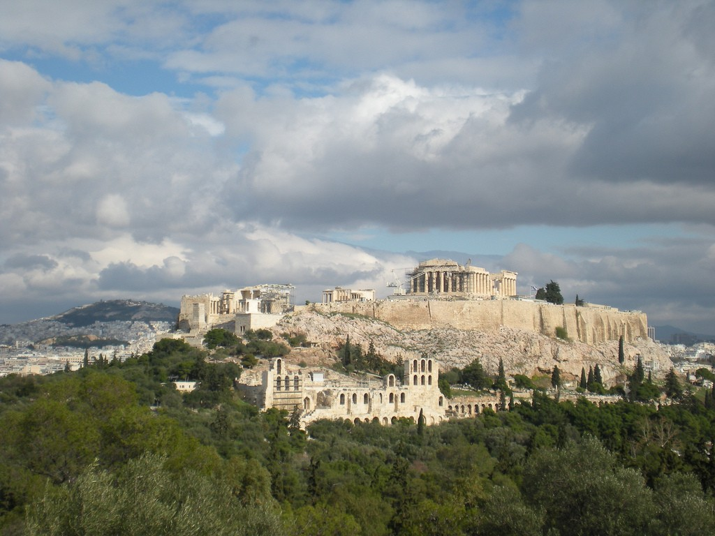 The Acropolis from the Filopappou Hill |© Kat Sommers/Flickr