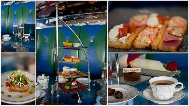 Afternoon tea in Skyview bar
