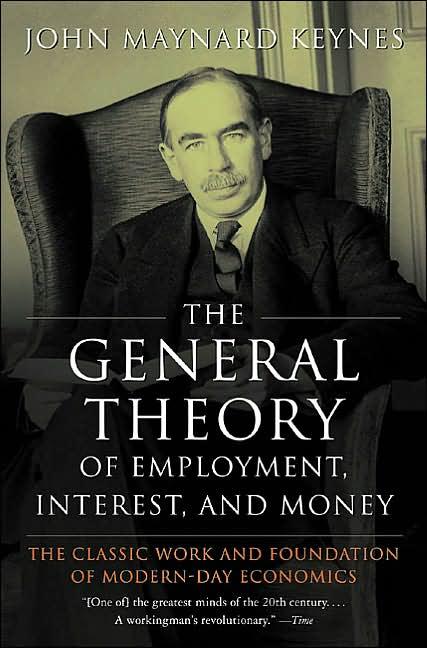 The cover of John Maynard Keynes's General Theory | Courtesy of Harcourt, Brace & World