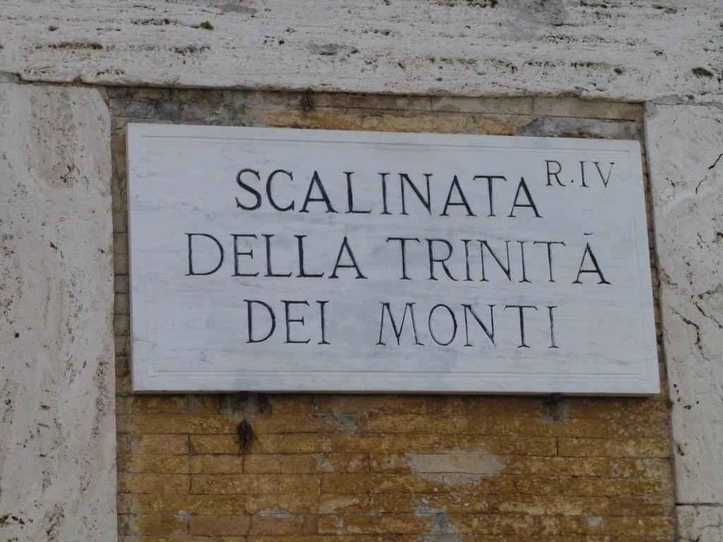 Rome street sign | © Jim McIntosh/Flickr