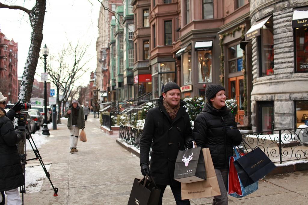 Newbury Street in Winter | © Massachusetts Office of Travel & Tourism / Flickr