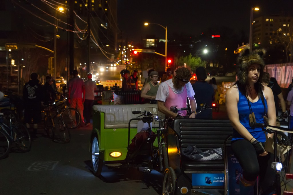 Pedicabs on Rainey Street © @mrlaugh