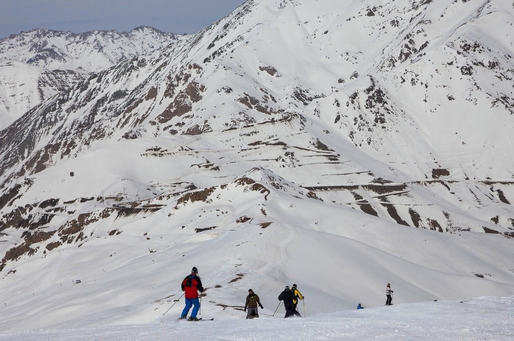 Skiing is a popular pastime   © Ninara / Flickr