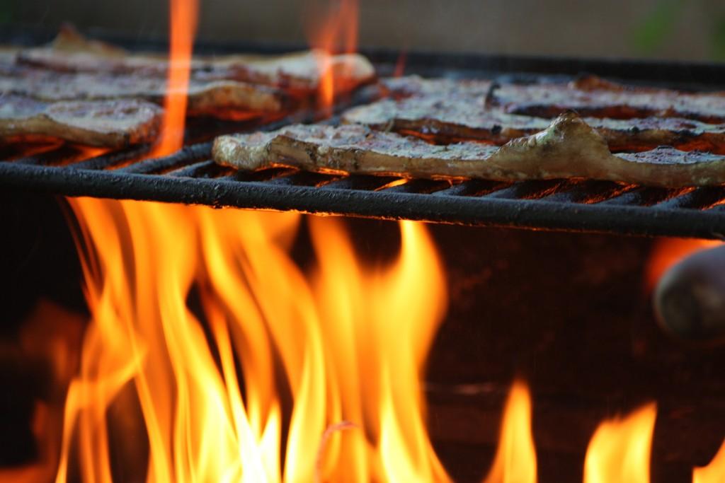 La llama de la barbacoa | © Manuel QC/Flickr