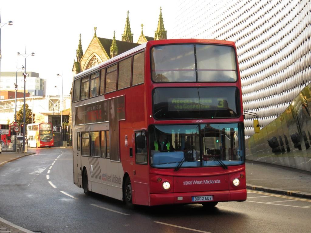 A Birmingham buzz / bus