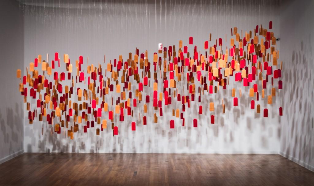"""""""Voces De Las Perdidas"""" by Adriana Corral © Mexic-Arte Museum"""