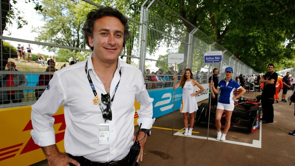 Alejandro Agag at a Formula E race | Courtesy Formula E