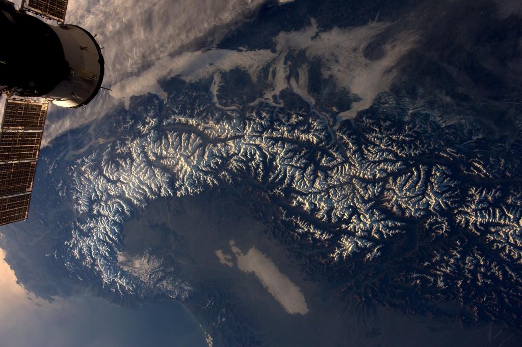 Alps in a glance │© ESA/NASA