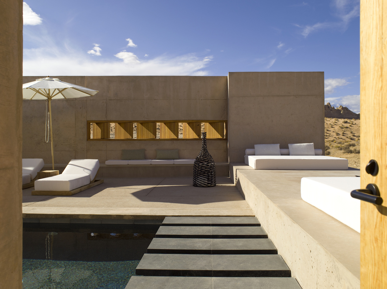 Amangiri Suite Breezeway | Courtesy of Aman