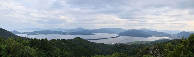 Panoramic View of Amanohashidate
