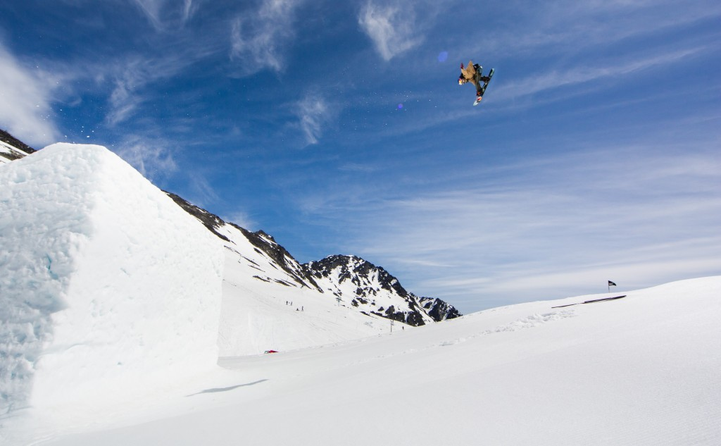 Huge air from Erin Hogue | Courtesy of Red Bull Content Pool