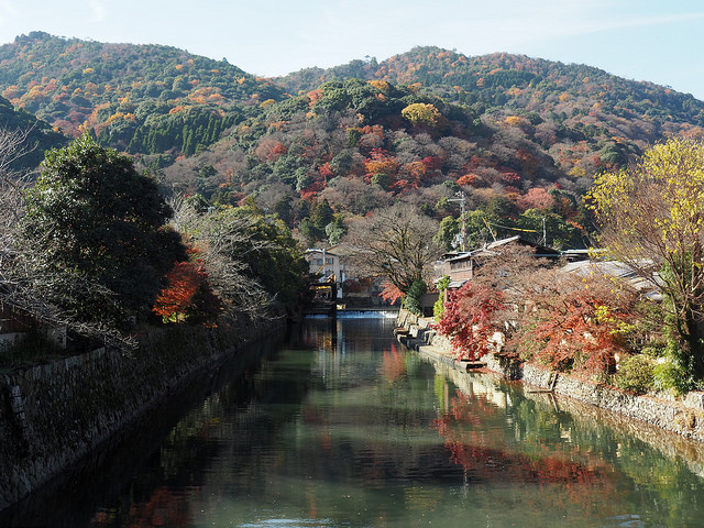 Autumn Colours in Arashiyama
