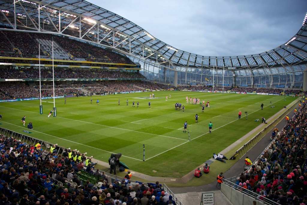 The Aviva Stadium seems a fitting location for a potential Grand Slam decider | Wikimedia