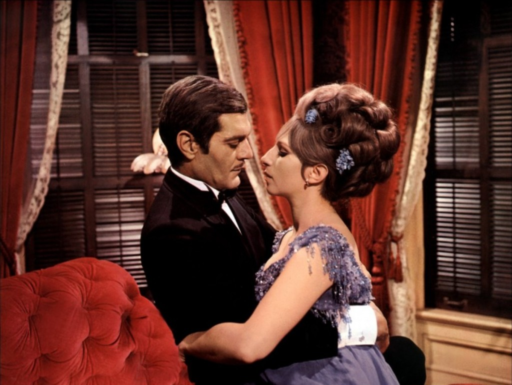 Omar Sharif and Barbara Streisand in 'Funny Girl'   Courtesy of Columbia Pictures