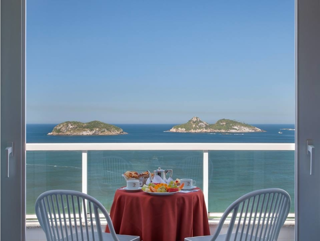 Breakfast with a view |© Royalty Hotel Barra