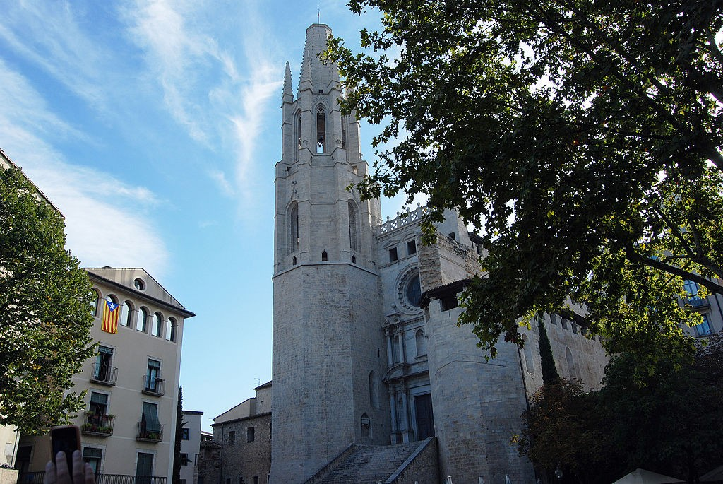 Basilica de Sant Feliu, Girona | ©Harvey Barrison / Wikimedia Commons
