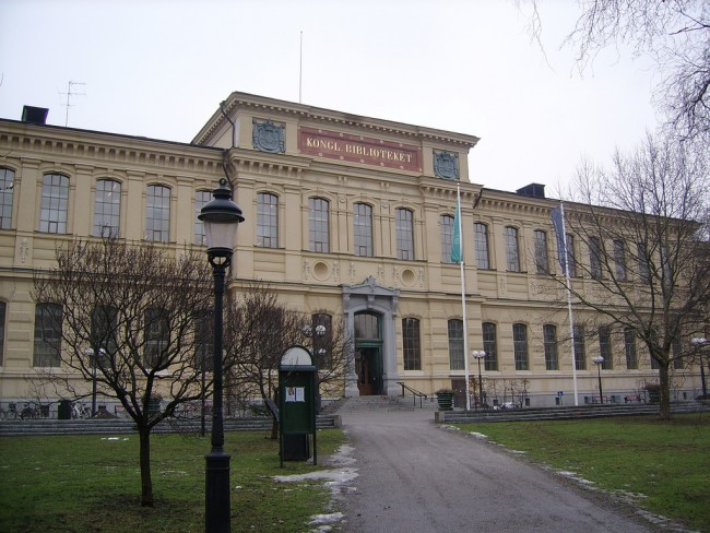 Sweden's National Library at Humlegården | ©stillbild/Flickr