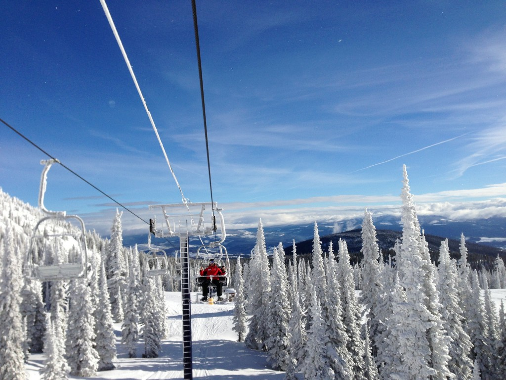 Views from Big White's chairlift | © Christine Rondeau / Flickr
