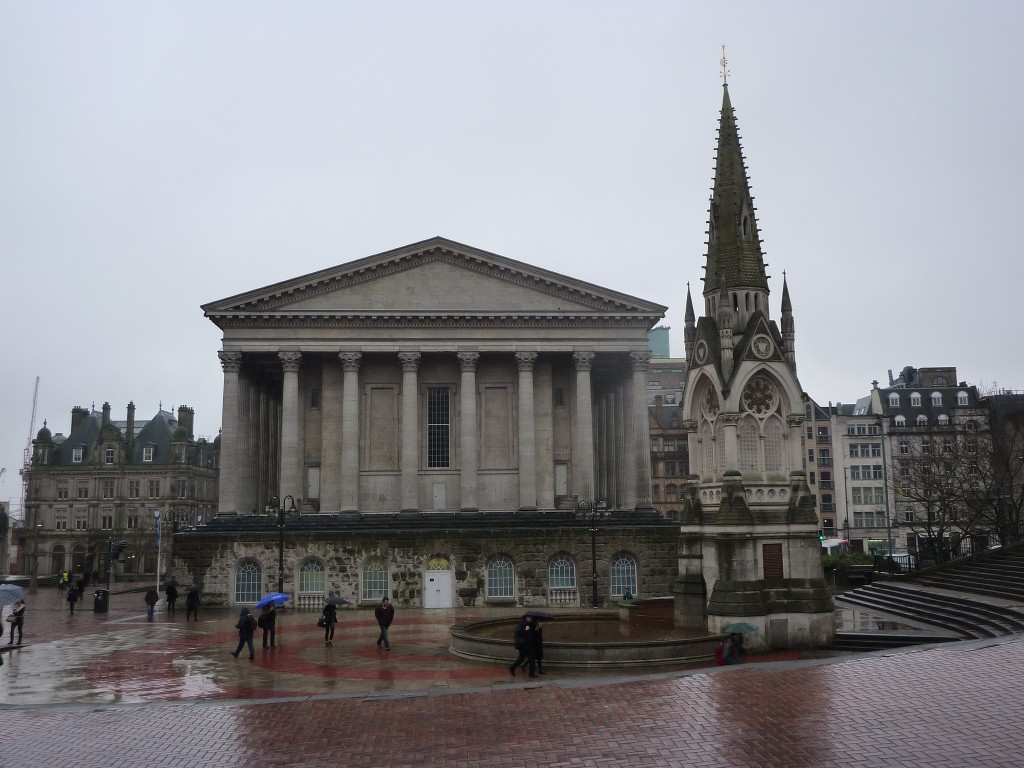 Birmingham Town Hall and Chamberlain Memorial
