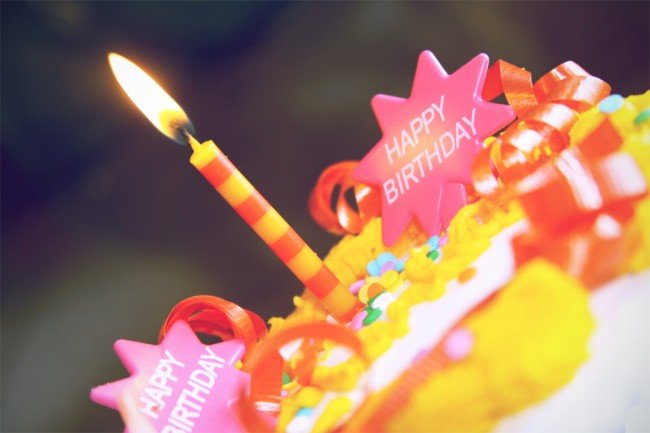 Birthday | ©Charlotte/Flickr