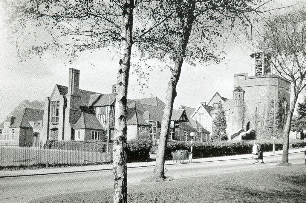 Bournville Primary School opposite Bournville Green, 1902-1905